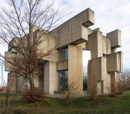 Kościół Świętej Trójcy, Wiedeń-Mauer, proj. Fritz Wortuba, 1967-1976.