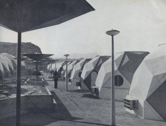Hotel w Szarm El-Szejk, Eldar i Arieh Sharon, 1970.